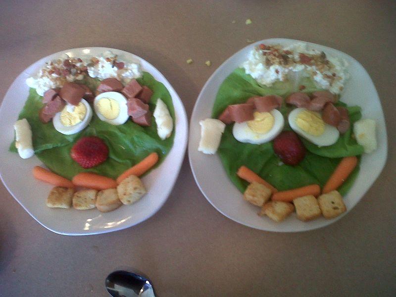 Salad face